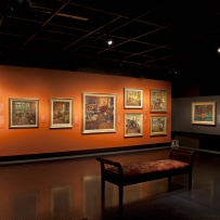 Exhibition space, Museum of Sydney.