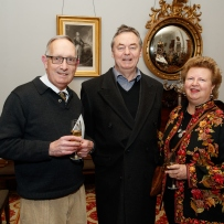 Robert Holden, Ian and Maisy Stapleton at the Bel Canto in the Bush recital