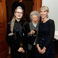 Andrea and Elinor Wrobel with Kate Sheaffe at the Bel Canto in the Bush recital