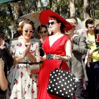 Robyn & Madellen at the Fifties Fair