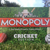 Photo of Cricket Monopoly game