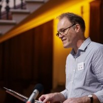 Dr Matthew Stephens, Research Librarian, Caroline Simpson Library & Research Collectio