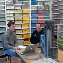 LEGO workshop with certified LEGO builder Ryan McNaught