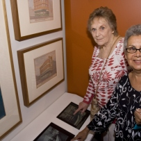 Ruth O'Neil & Joan Martin at the launch of Sydney's Pubs, Justice & Police Museum, 26 February 2008.
