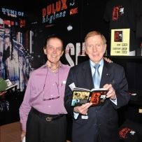 Wayne Martin with Michael Kirby at the Sin City launch