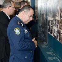 Deputy Commissioner of Field Operations NSW Police, NIck Kaldas at the Justice and Police Museum