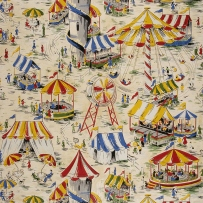 Fairground wallpaper, c1957