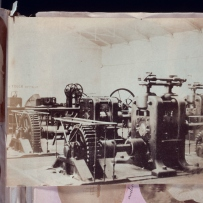 Rolling machines at the Sydney Mint