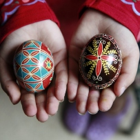 Decorated easter eggs - Rituals and Traditions of Sydney.