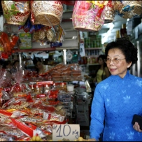 Thi Tam Nguyen stocks up on New Year treats - Rituals and Traditions of Sydney.