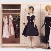 Barbie 'Fashion Queen', 'After Five' and 'Solo in the Spotlight' with wardrobe