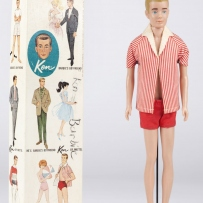 Ken doll with box