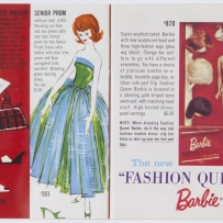Barbie and Ken booklet, selected pages. 1961