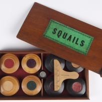 Squails a nineteenth century table game