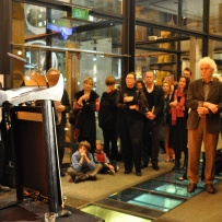 Jack Mundey launching exhibition
