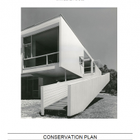 Cover of Mid Century Modern Conservation Plan document. Sydney Living Museums.