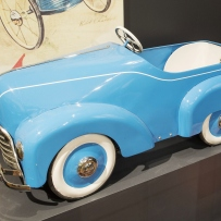 Photo of a toy pedal car