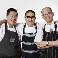 Image of the chefs at restaurant - Mr Wong
