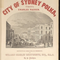 Cover of sheet music book