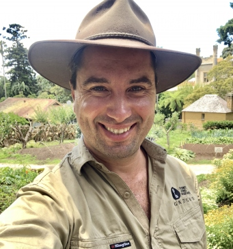Picture of Horticulturist Helder Esteves