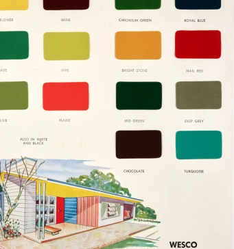 Wesco enamel colour chart