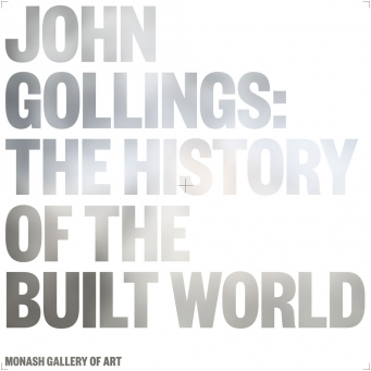 Cover of book showing author name and title in reflective print.