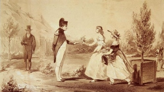 Napoleon meeting Balcombe girls