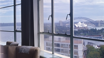 Wylde Street, Potts Point - the penthouse apartment