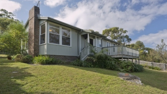 South-western elevation of house at Commonwealth Avenue Mosman
