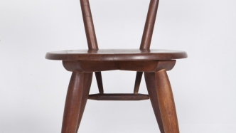 Timber Packs chair - front view