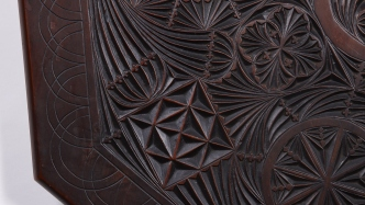 Detail of chip-carving