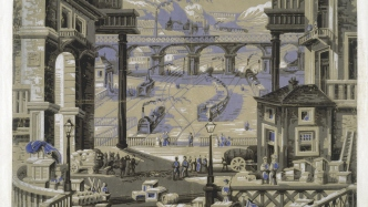The Railway Station wallpaper
