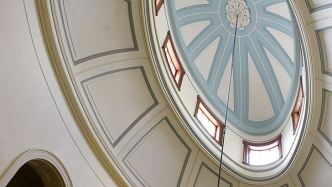 Dome in the saloon, Elizabeth Bay House