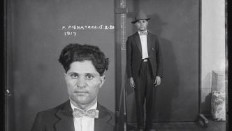 Mugshot of Filippo Pignataro (alias Pijnataro), 15 February 1930