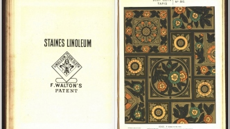 Linoleum trade catalogue