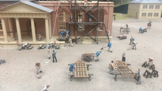 Hyde Park Barracks models