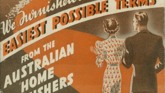 Detail of catalogue cover.
