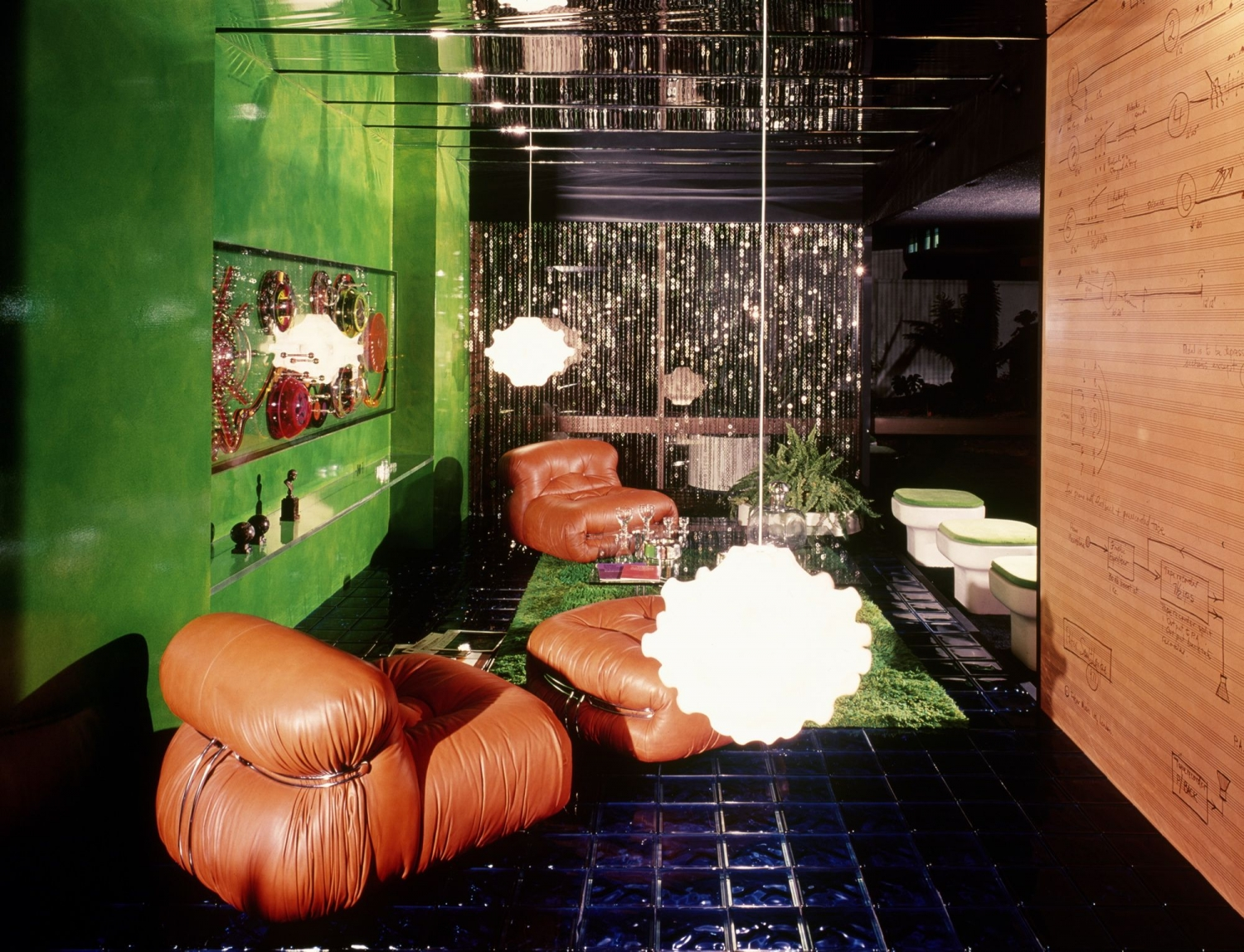 A room for Mr Peter Sculthorpe, designed by Marion Best and Deirdre Broughton for Rooms on View, 1971