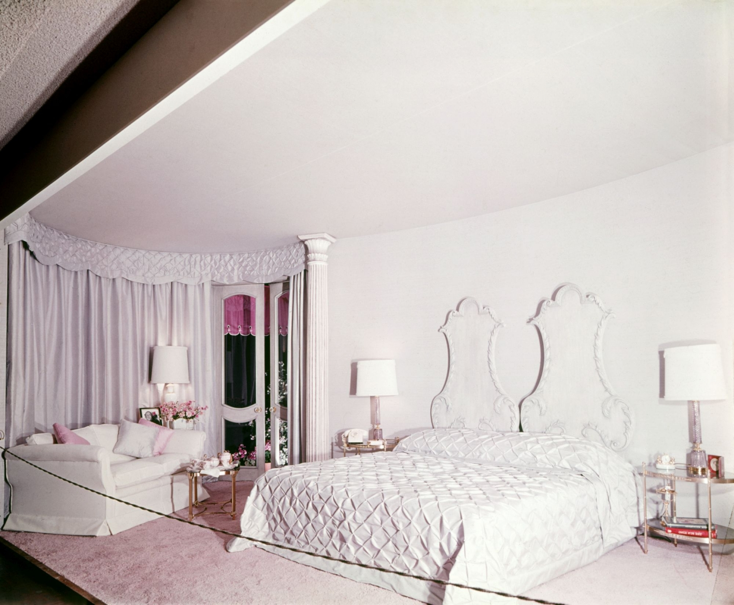 Decor Associates: 'A bedroom for Mrs Marcel Dekyvere'
