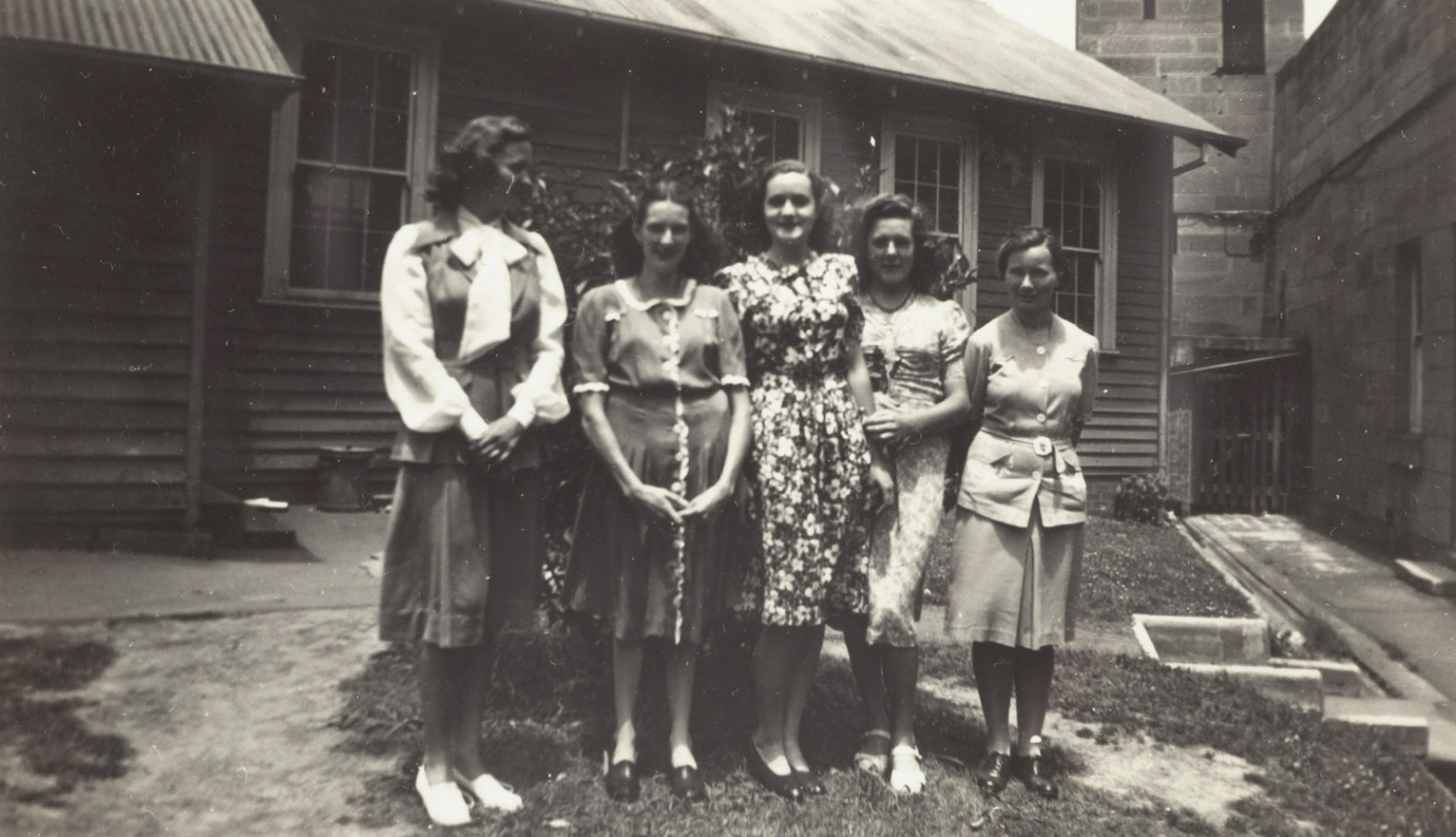 Students at East Sydney Technical College, mid 1940s