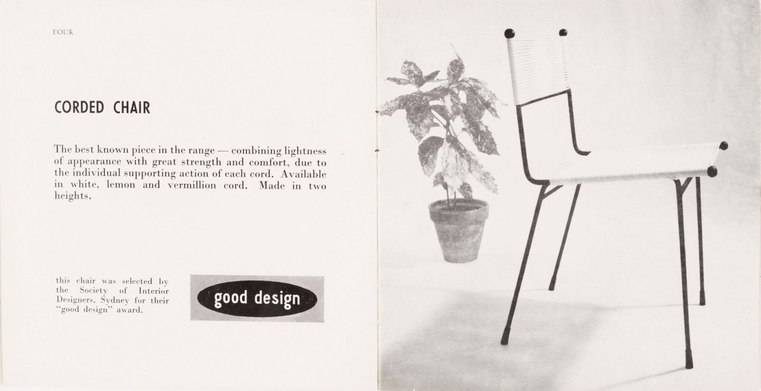 Good design awards, Clement Meadmore