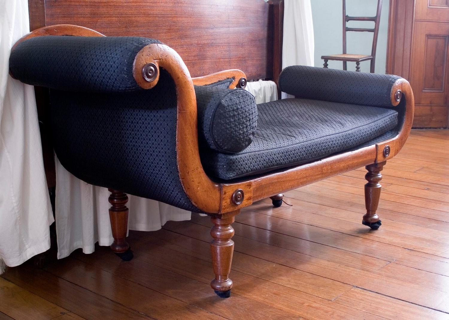 Couch of Australian red cedar in Greek Revival taste c.1840