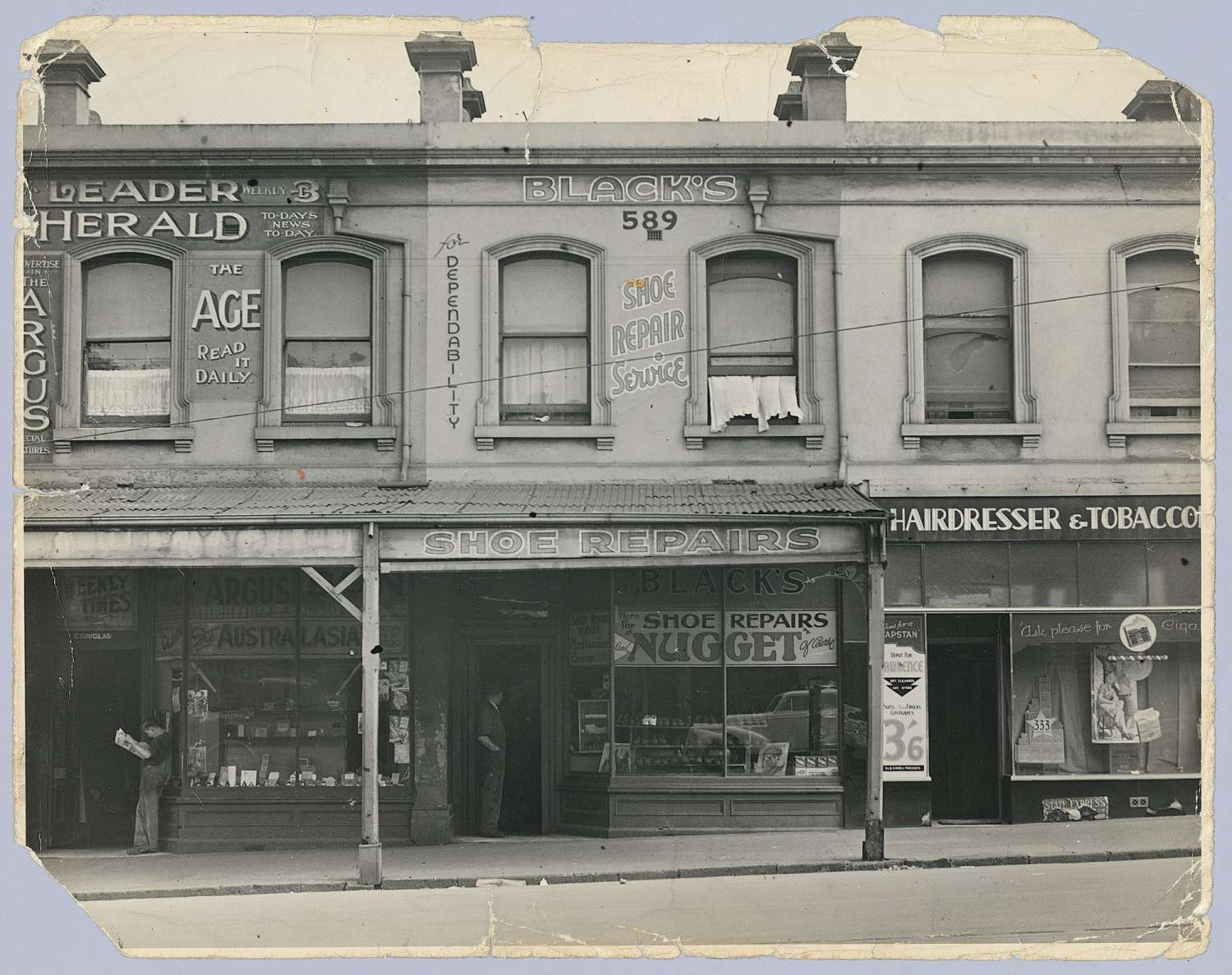 Photograph of home in Melbourne where crime took place