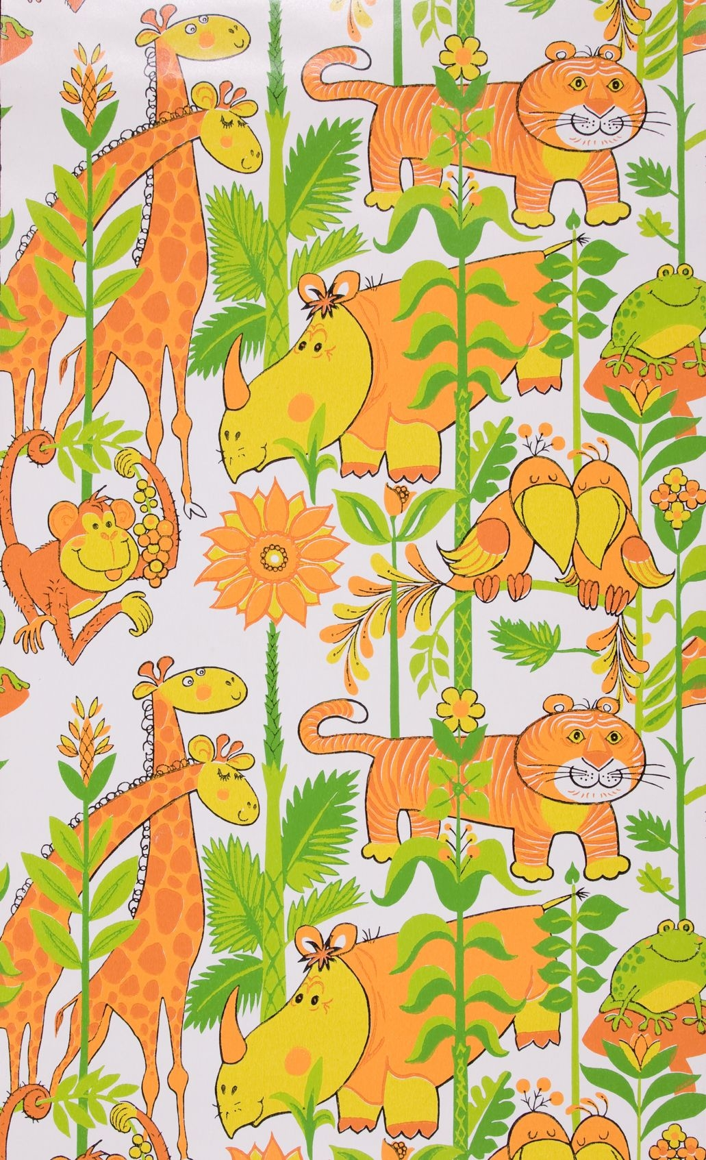 Jungle animals wallpaper