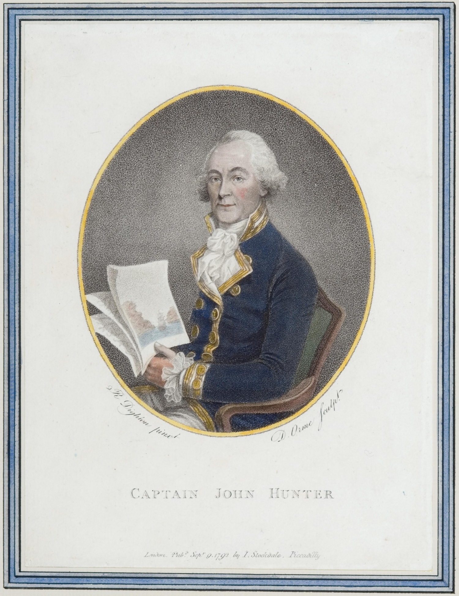 Portrait of Captain John Hunter