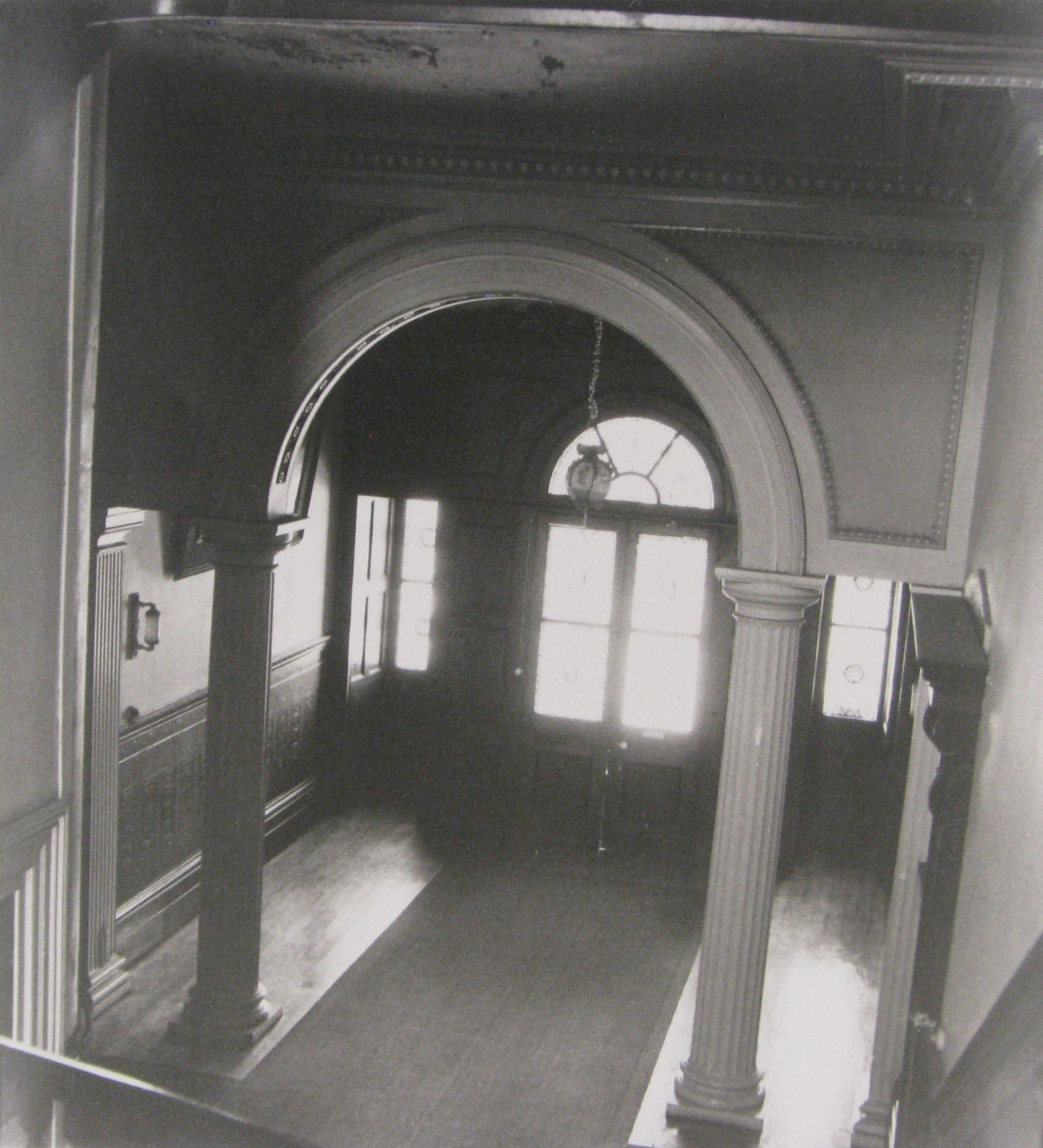 Entrance hall at Drummoyne House c1971