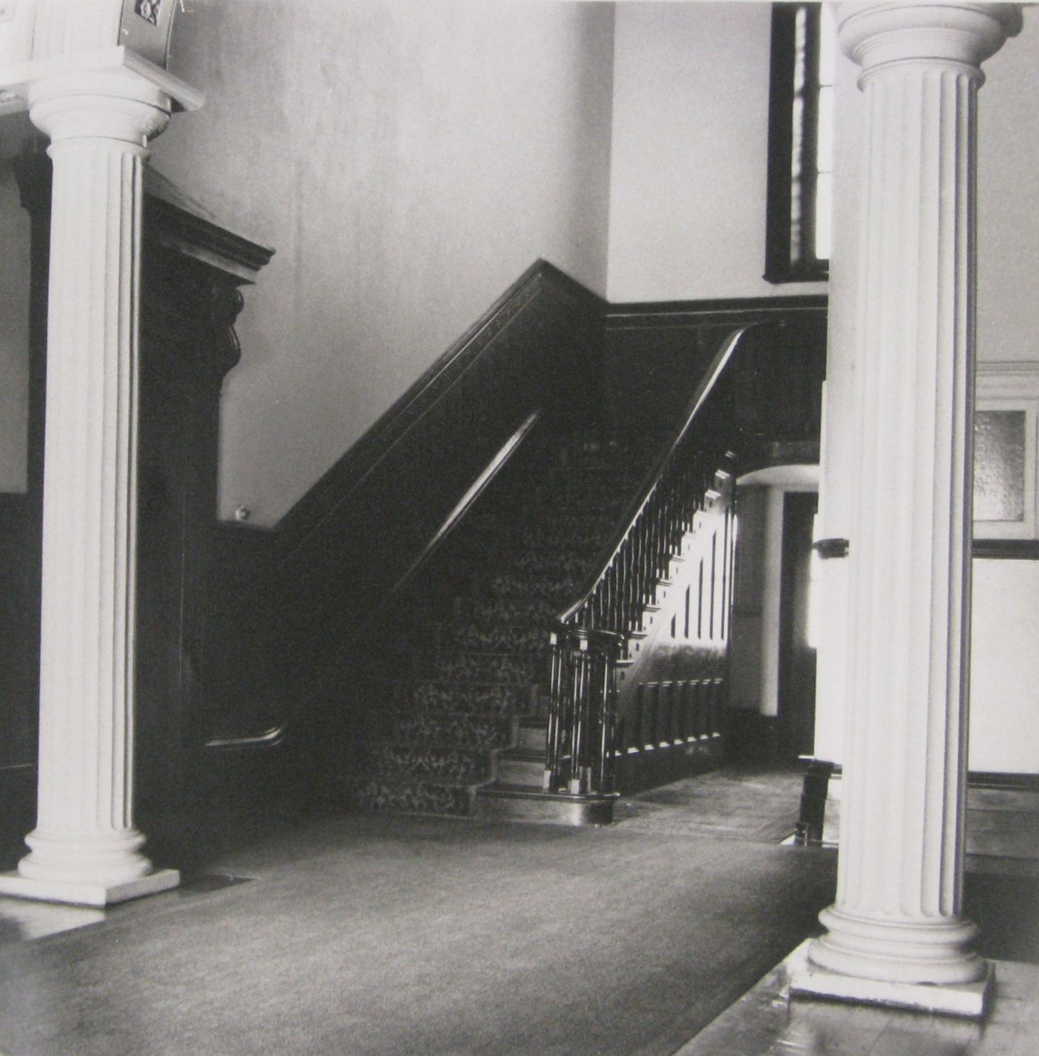 Entrance hall at Drummoyne House, c1971