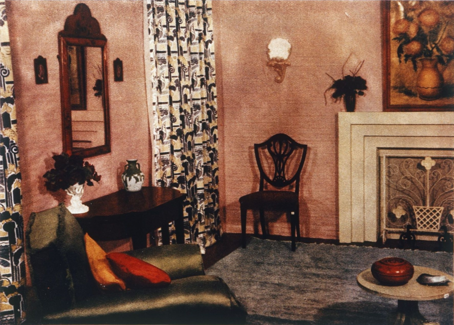 'Classic modern room', July 1941