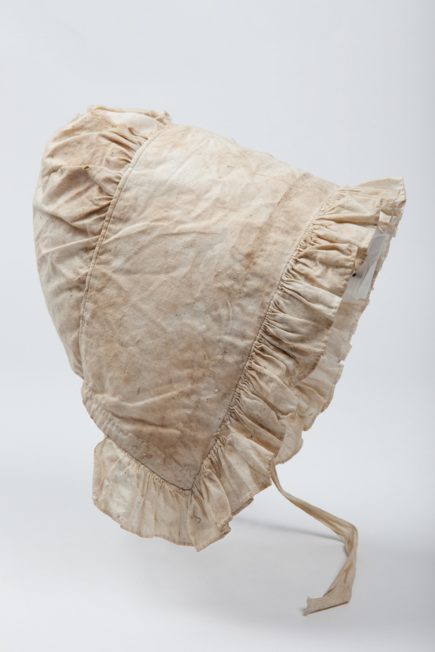 Asylum bonnet from Hyde Park Barracks Museum archaeology collection