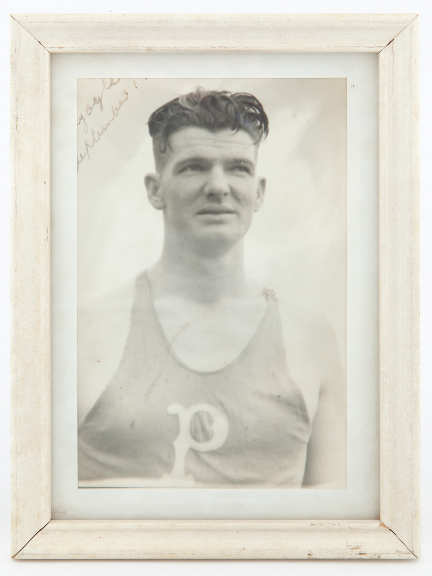 Photograph of champion athlete Constable Lance Hayes Townsend, September 1938 / photographer unknown